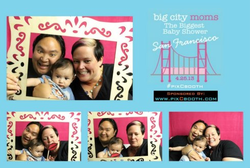 pixcbooth April 2013 biggest baby shower